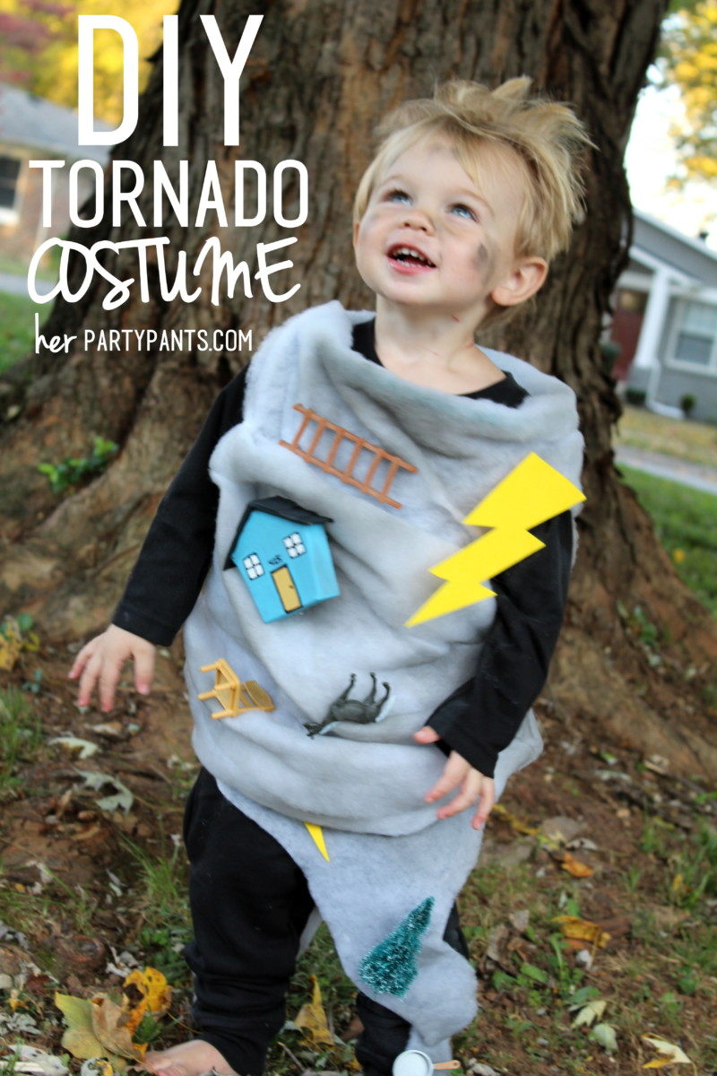 DIY Tornado Costume